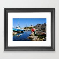 Cove View Framed Art Print