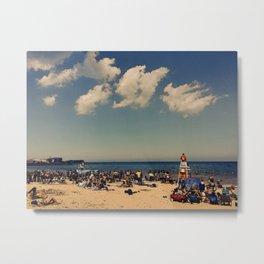 Evanston Beach #4 Metal Print