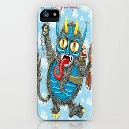 Merry Krampus! iPhone Case