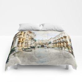 Trapani art 1 Comforters