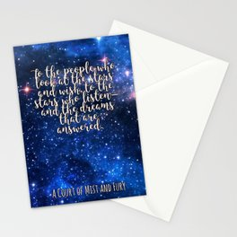To the people who look at the stars Stationery Cards
