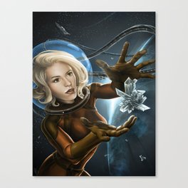 Zero Gravity Gathering  Canvas Print