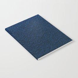 Dark Blue Fleecy Material Texture Notebook