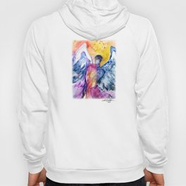 Luke Angel by Kathy Morton Stanion Hoody
