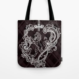 Shield red Lion Tote Bag