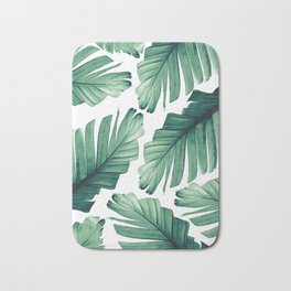 Tropical Banana Leaves Dream #3 #foliage #decor #art #society6 Bath Mat