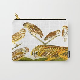 Burrowing Owl Illustration Carry-All Pouch