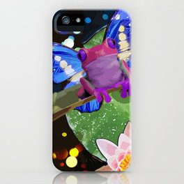 Amphibian Reborn iPhone Case