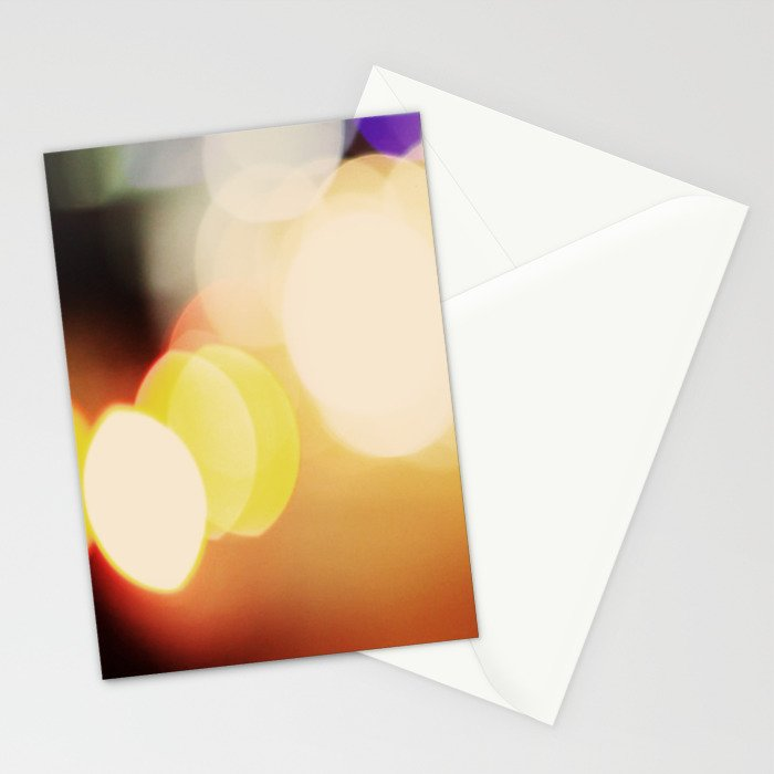 City Blur Stationery Cards