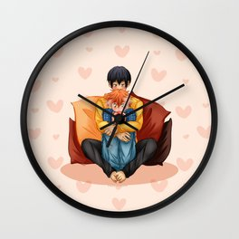 Warm up Wall Clock