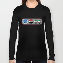 United Nations is watching Syria Long Sleeve T-shirt