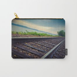 Tracks By the Lake Carry-All Pouch