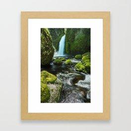 Eden's Lagoon Framed Art Print