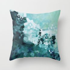 Slide Wave Throw Pillow