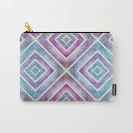 Watercolor Geometrics Carry-All Pouch