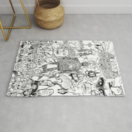 Folk Horror - B&W Rug