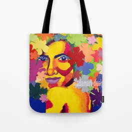 Blooming with grace Tote Bag