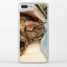 Hide and Seek Clear iPhone Case