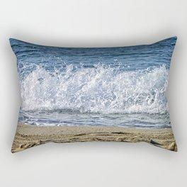 Frothy Surf Rectangular Pillow