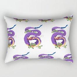 Far Eastern Dragons Rectangular Pillow