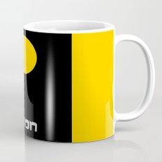 The Moon in Minimal Mug