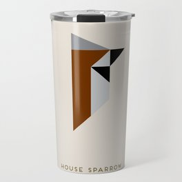 House Sparrow Travel Mug