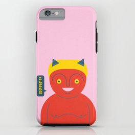 Happy Demon iPhone Case