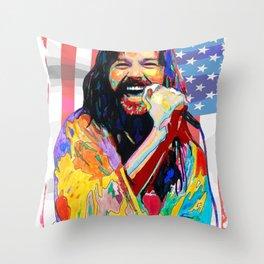 bob seger album 2020 ansel9 Throw Pillow