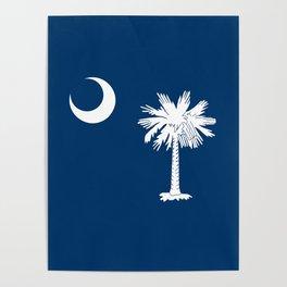 Flag of South Carolina - High Quality image Poster