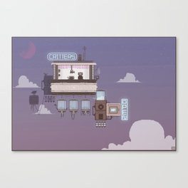 Critters Canvas Print