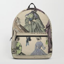 The Ladies Gazette of Fashion, The newest Fashions for November 1864, anonymous, 1864 Backpack