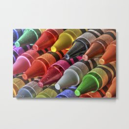 Crave Color Metal Print