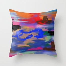 Battleship Throw Pillow