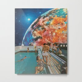 Moon Burn Metal Print