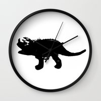 dino Wall Clocks featuring DINO by ProfileDesign