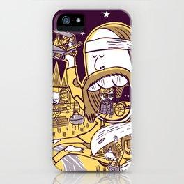Giant Hippy iPhone Case