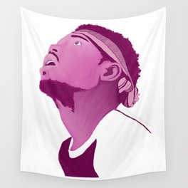 Chance The Rapper; Pink Wall Tapestry
