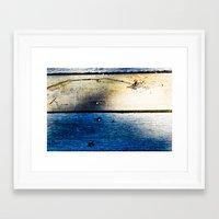 boardwalk empire Framed Art Prints featuring boardwalk by musebaby