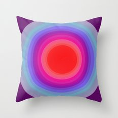 from cold to warm Throw Pillow