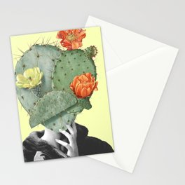 Cactus head Stationery Cards