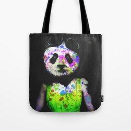 Panda Head Tote Bag