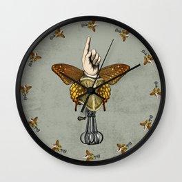 Butterhand Portrait Wall Clock