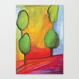 The Magic Trees Canvas Print