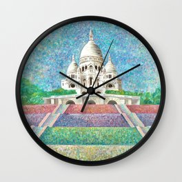 Paris Monument Wall Clock