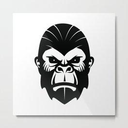 Gorille 4 Metal Print