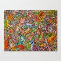 redhead Canvas Prints featuring Redhead by Kk307 Karyn Deveraux