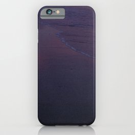 Late afternoon at the beach iPhone Case