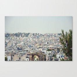 Athens Skyline Canvas Print