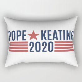 Pope Keating 2020 Rectangular Pillow