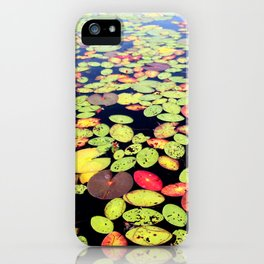 Lounging Lilys iPhone Case